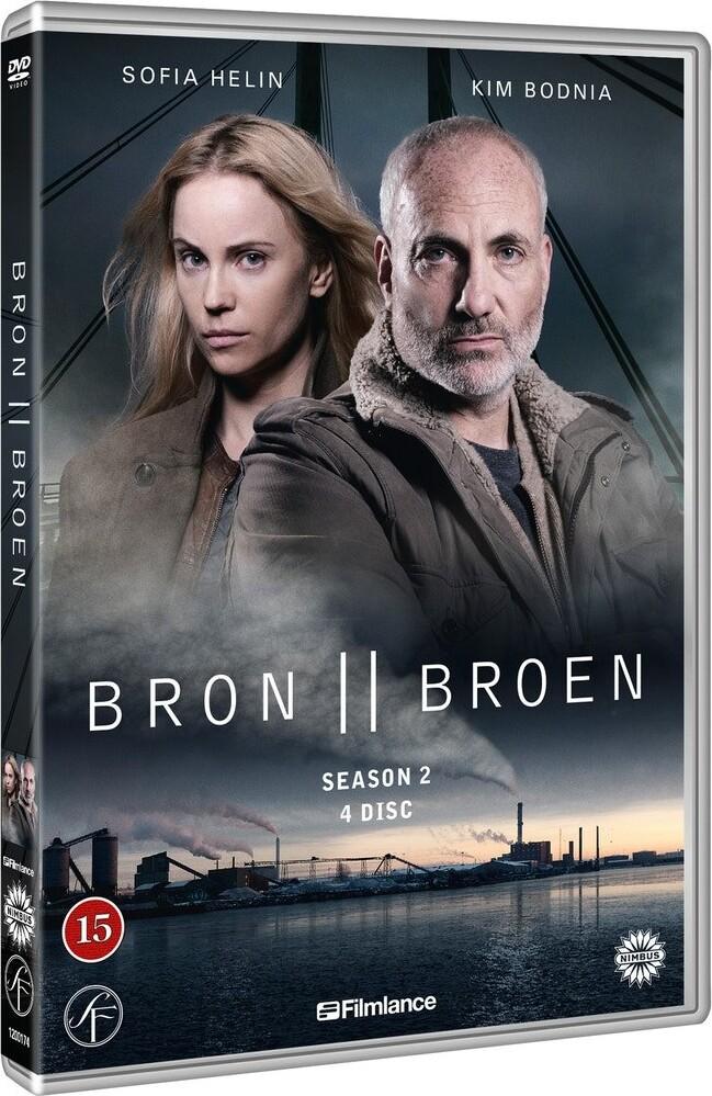 Image of   Broen - Sæson 2 - DVD - Tv-serie