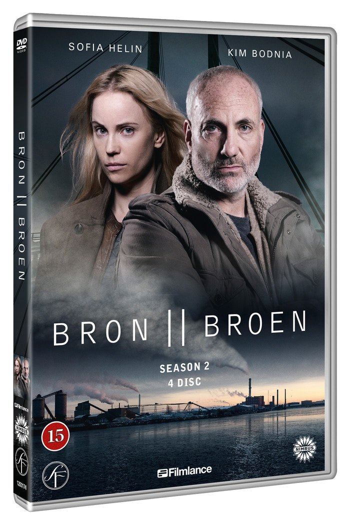 Image of   Broen - Sæson 2 - DVD - Tv-serie