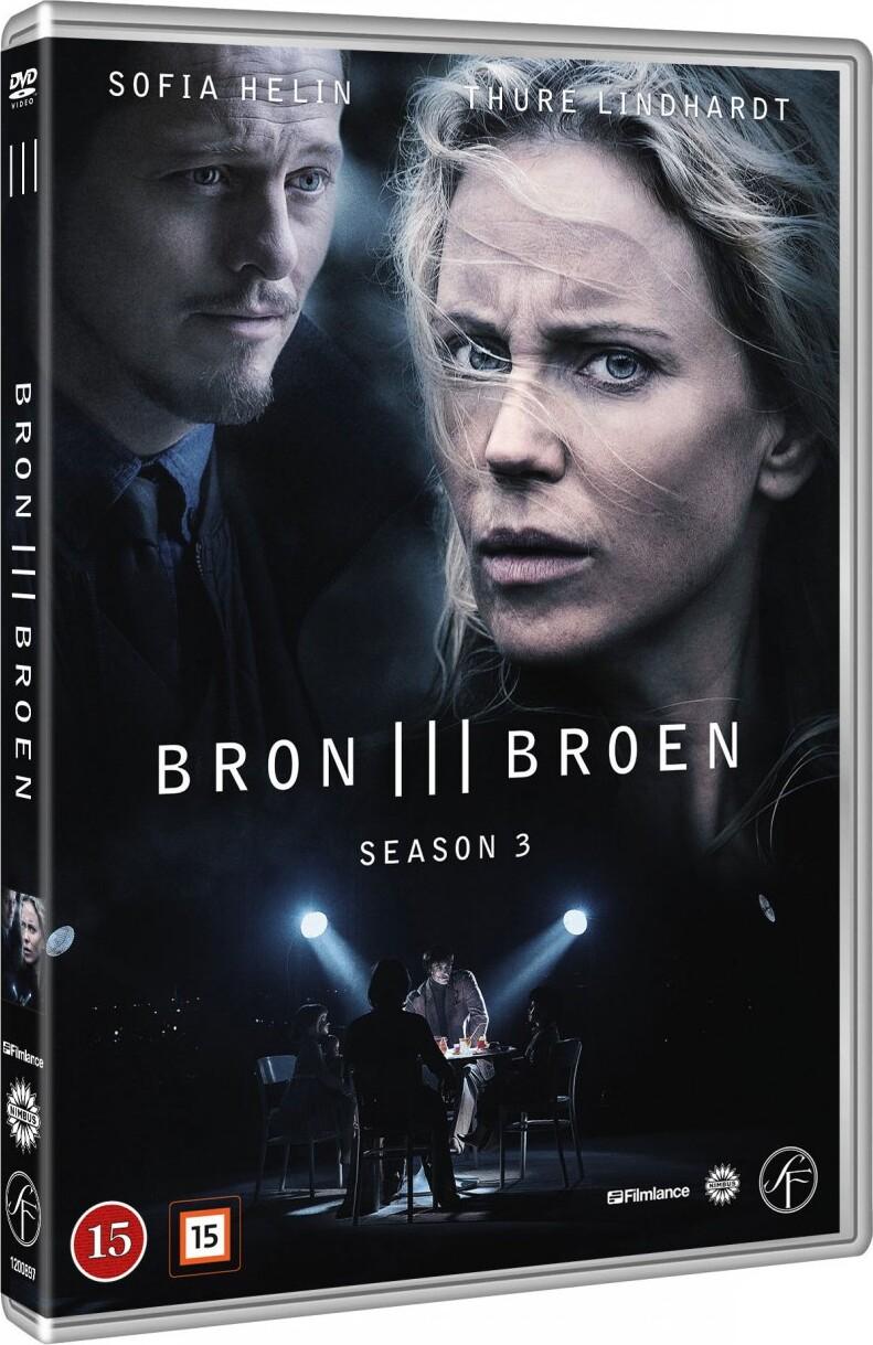 Image of   Broen - Sæson 3 - DVD - Tv-serie
