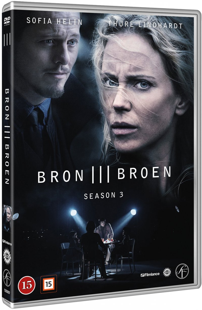 Image of   Broen - Sæson 3 - DVD - Tv-serie