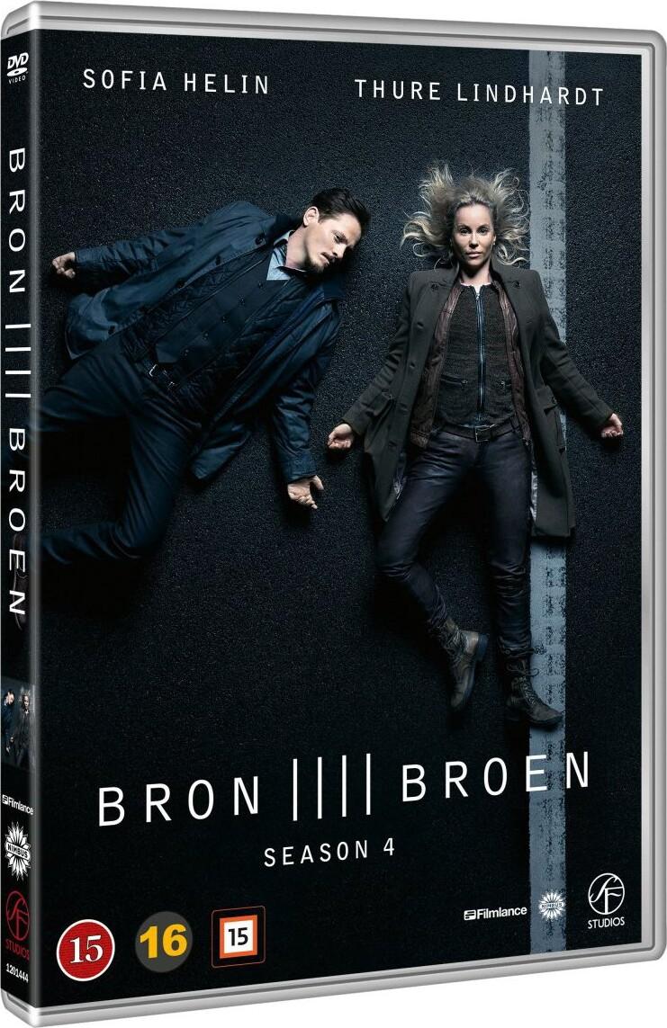 Image of   Broen - Sæson 4 - DVD - Tv-serie