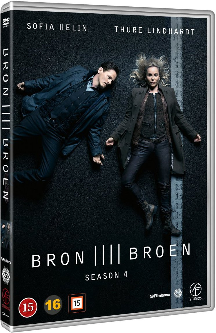 Image of   Broen - Sæson 4 - DVD - Tv-serie