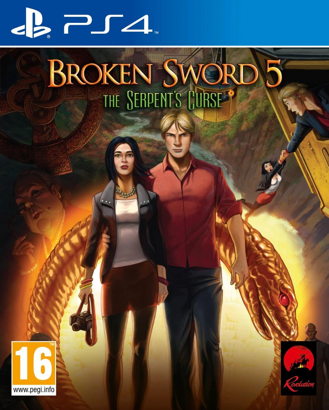 Image of   Broken Sword 5: The Serpents Curse - PS4