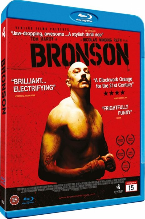 Image of   Bronson - Blu-Ray