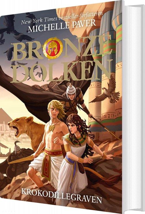 Image of   Bronzedolken 4: Krokodillegraven - Michelle Paver - Bog
