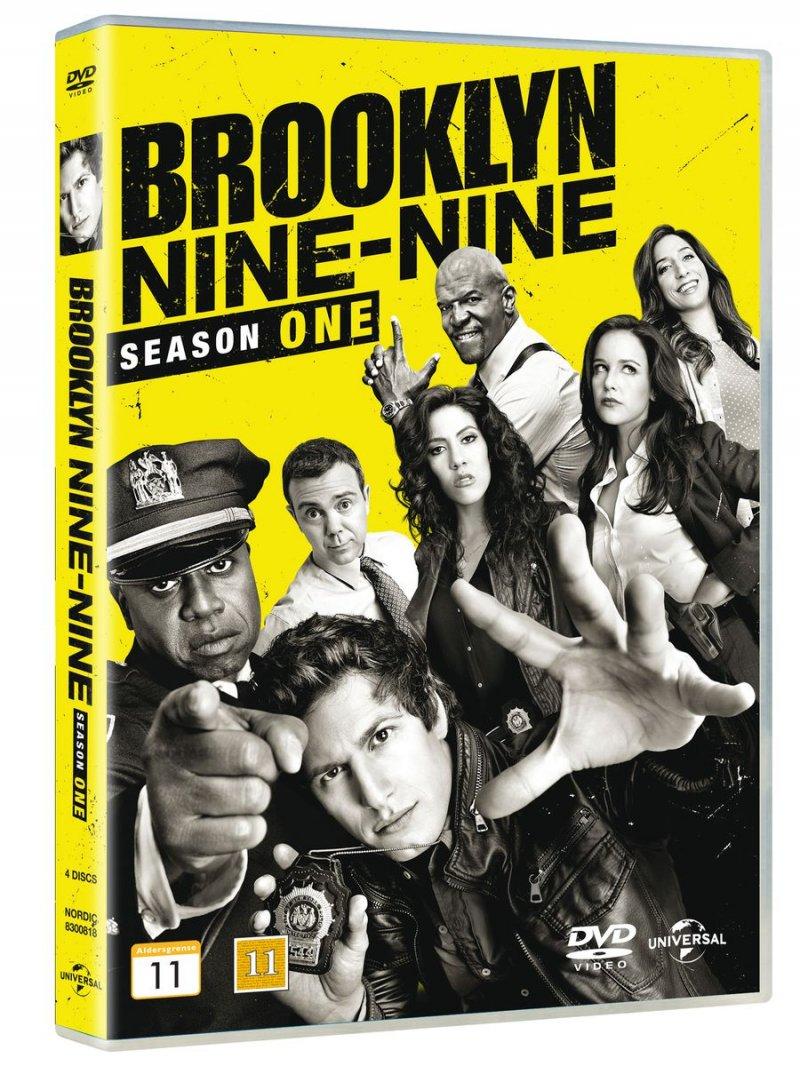 Image of   Brooklyn Nine-nine - Sæson 1 - DVD - Tv-serie
