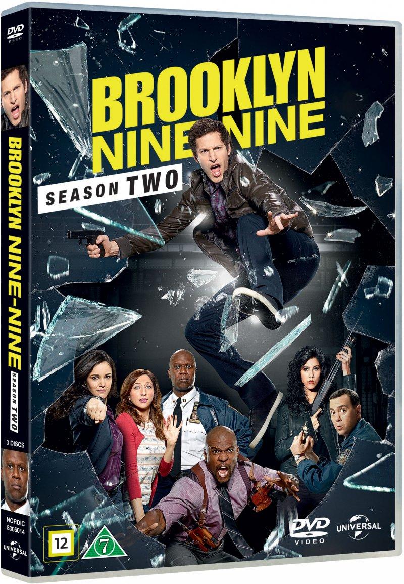 Image of   Brooklyn Nine-nine - Sæson 2 - DVD - Tv-serie