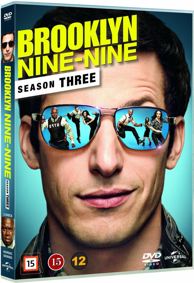 Image of   Brooklyn Nine-nine - Sæson 3 - DVD - Tv-serie