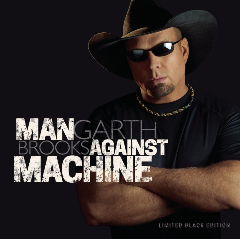 Image of   Brooks Garth - Man Against Machine - CD