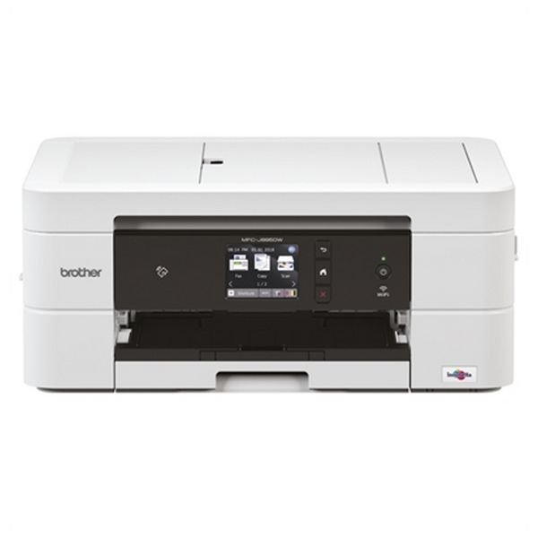 Image of   Brother 4-i-1 Farveprinter, Scanner, Kopimaskine Og Fax - Wifi - Mfcj895dw
