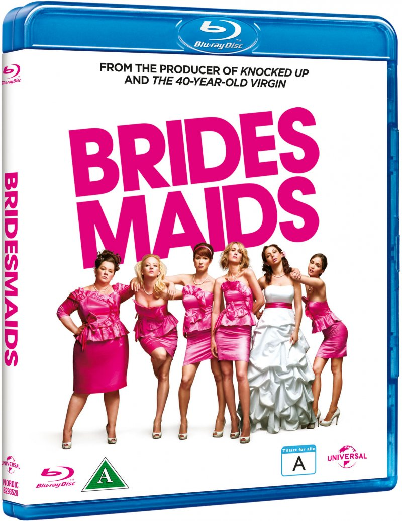 Image of   Bridesmaids / Brudepiger - Blu-Ray