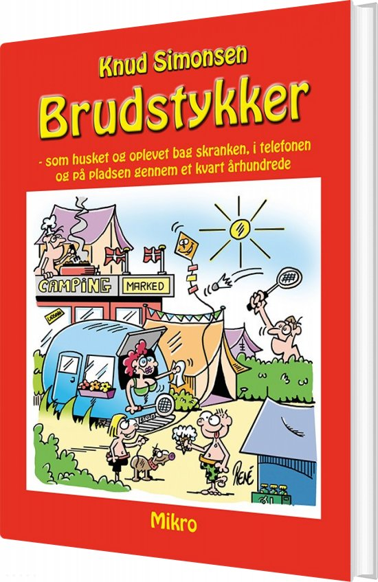 Brudstykker - Knud Simonsen - Bog