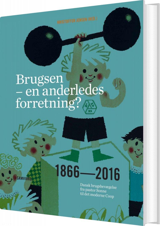Image of   Brugsen - En Anderledes Forretning? - Kristoffer Jensen - Bog