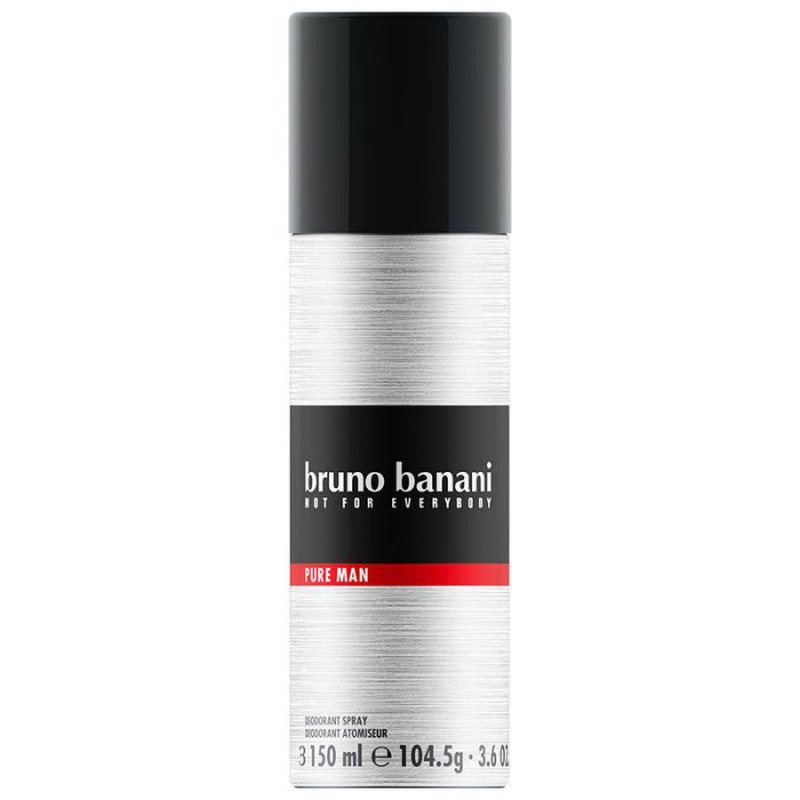 Image of   Bruno Banani Pure Man Deodorant Spray - 150 Ml.