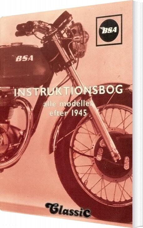 Image of   Bsa - Instruktionsbog - Villy Poulsen - Bog