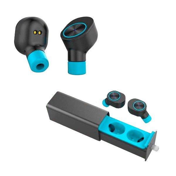 Image of   Bsl C-50 - Trådløs In-ear Bluetooth Høretelefoner - Sort Blå