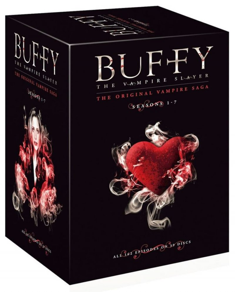 Image of   Buffy The Vampire Slayer Box - Den Komplette Boks - Sæson 1-7 - DVD - Tv-serie