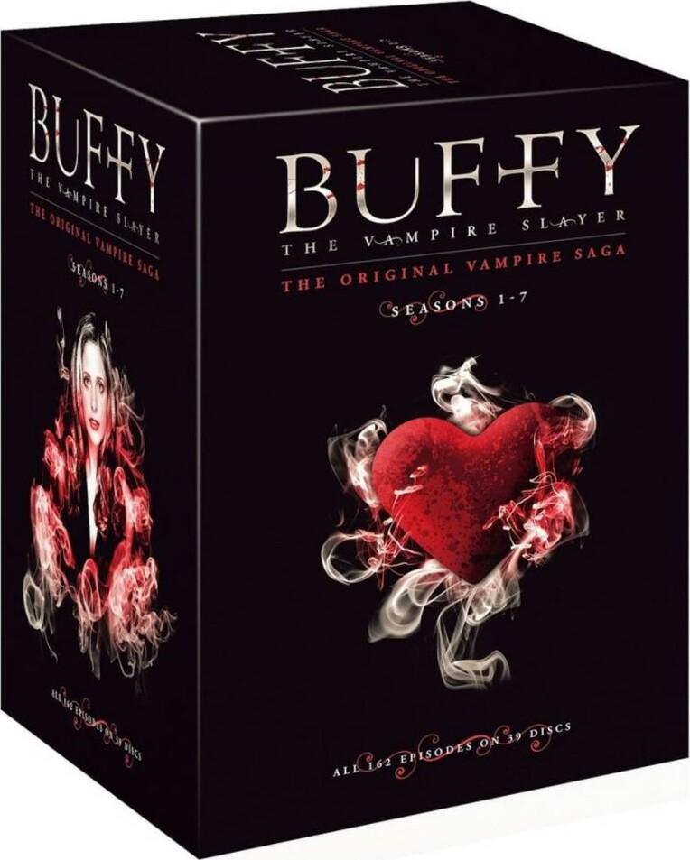 Image of   Buffy The Vampire Slayer Box - Den Komplette Boks - Sæson 1-7 - DVD - Tv-serie