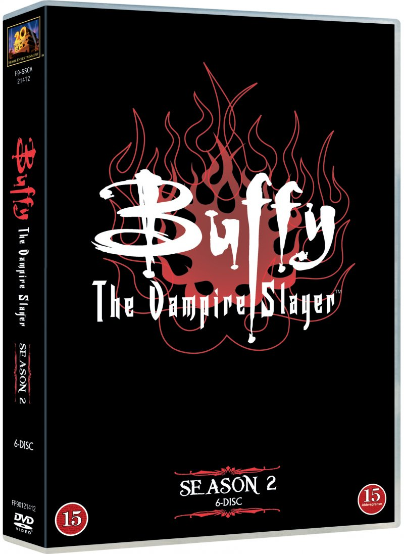 Image of   Buffy - Sæson 2 - DVD - Tv-serie