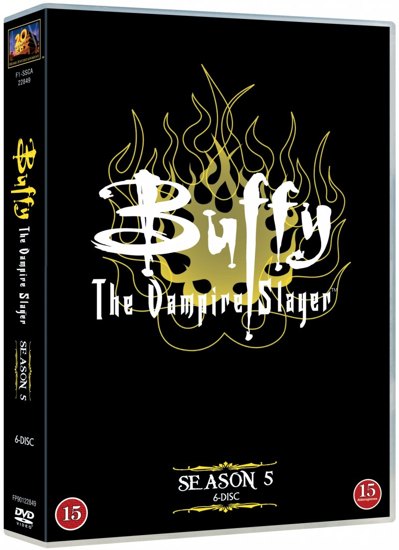 Image of   Buffy - Sæson 5 - DVD - Tv-serie