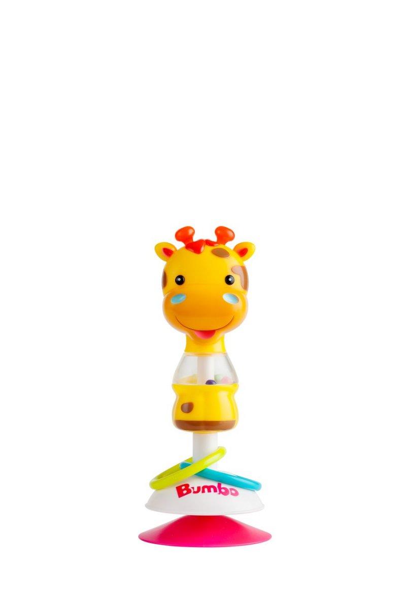 Bumbo Legetøj Med Sugekop - Giraffen Gwen