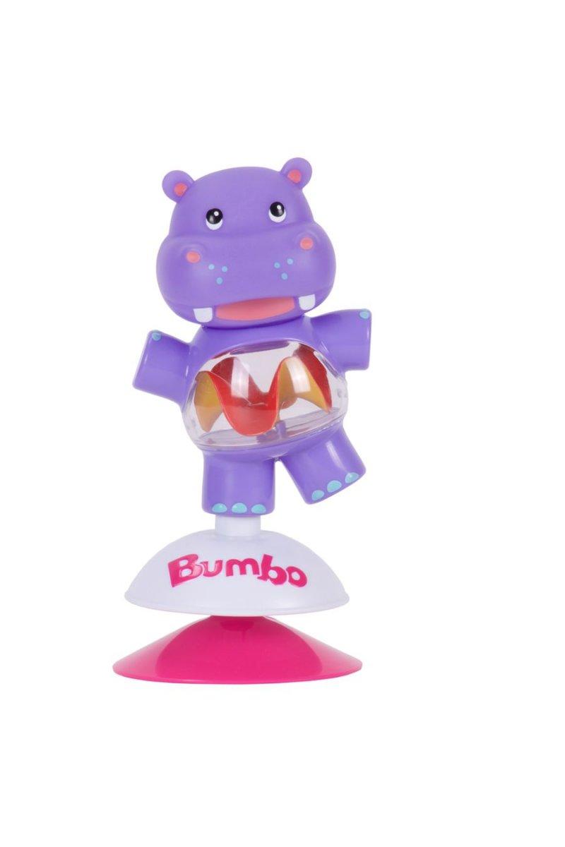 Image of   Bumbo Legetøj Med Sugekop - Flodhesten Hildi