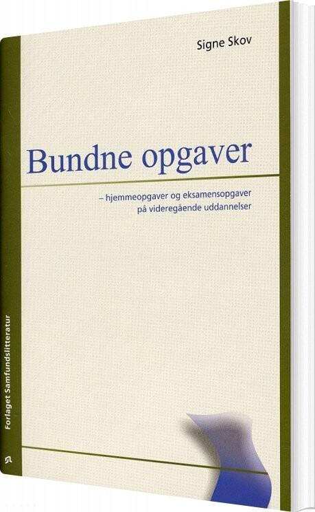 Image of   Bundne Opgaver - Signe Skov - Bog