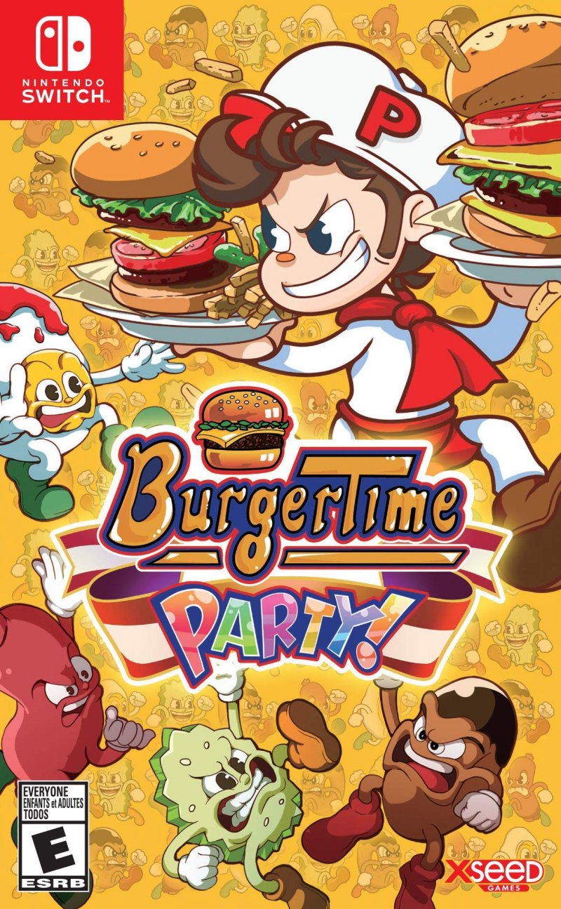 Image of   Burgertime Party! - Nintendo Switch