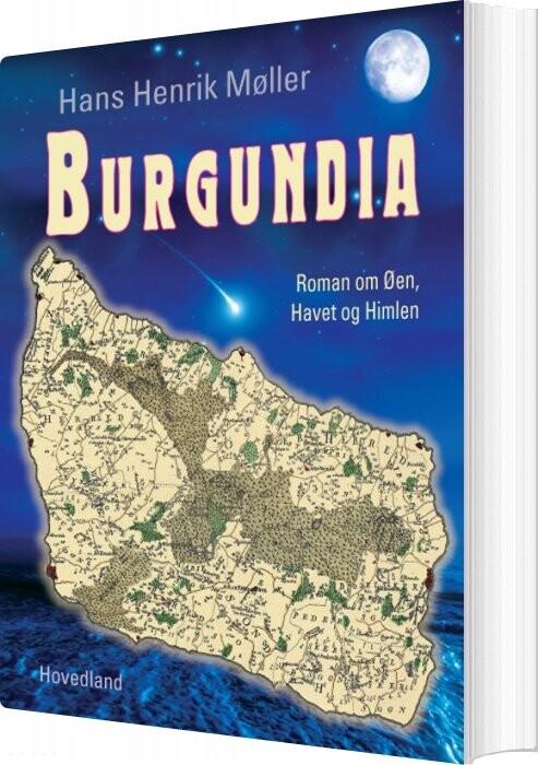Burgundia - Hans Henrik Møller - Bog