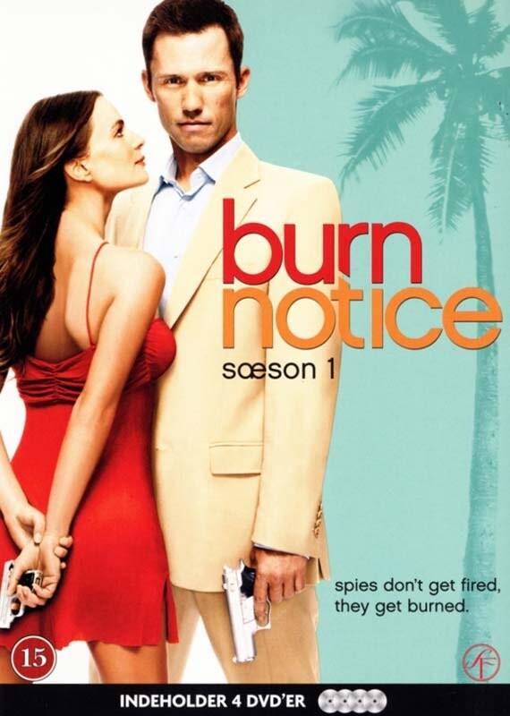 Image of   Burn Notice - Sæson 1 - DVD - Tv-serie