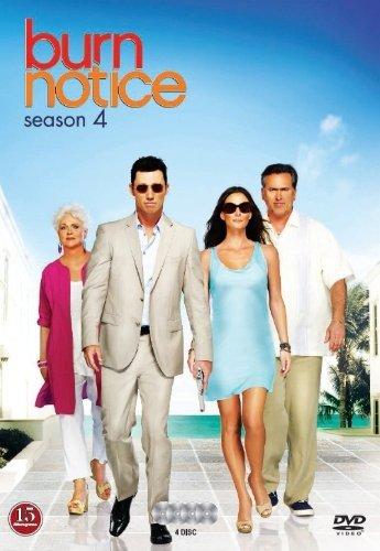 Image of   Burn Notice - Sæson 4 - DVD - Tv-serie