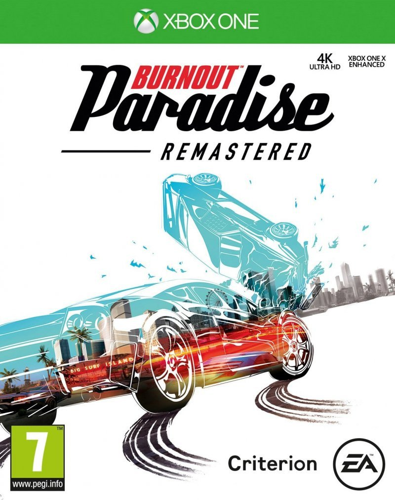 Image of   Burnout Paradise Hd - Download Code - Xbox One