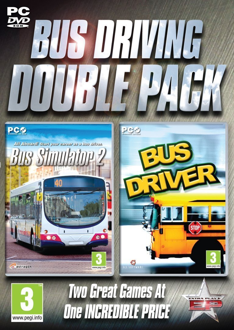 Image of   Bus Driving Double Pack - Bus Simulator 2 & Bus Driver - PC