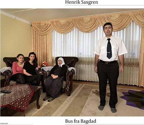 Billede af Bus Fra Bagdad - Henrik Saxgren - Bog