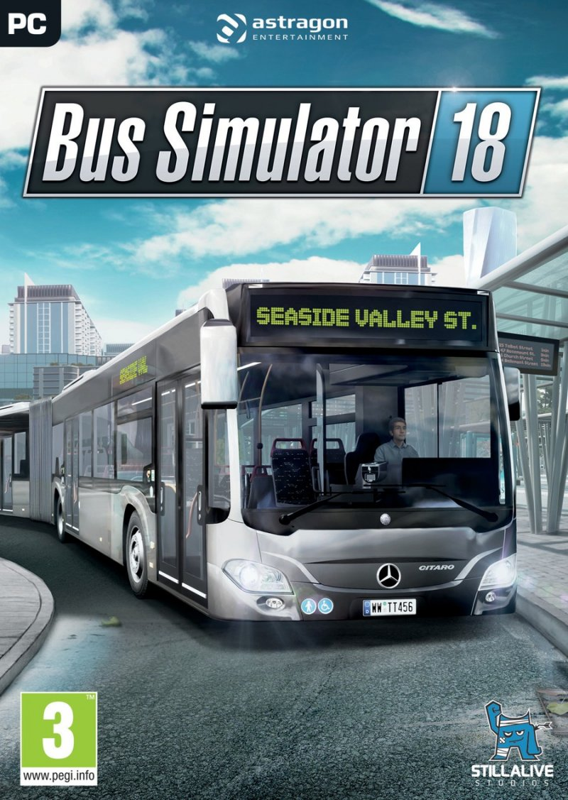 Image of   Bus Simulator 18 - PC