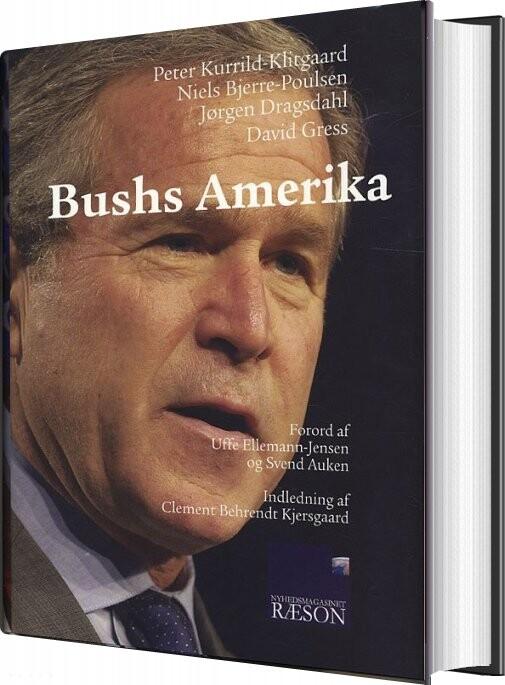 Image of   Bushs Amerika - Niels Bjerre-poulsen - Bog