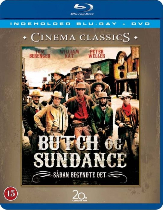 Butch And Sundance: The Early Days (blu-ray + Dvd) - Blu-Ray