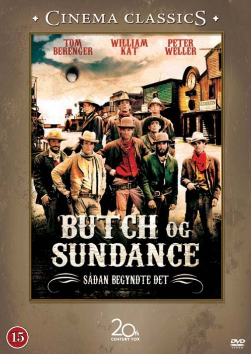 Butch And Sundance: The Early Days - DVD - Film