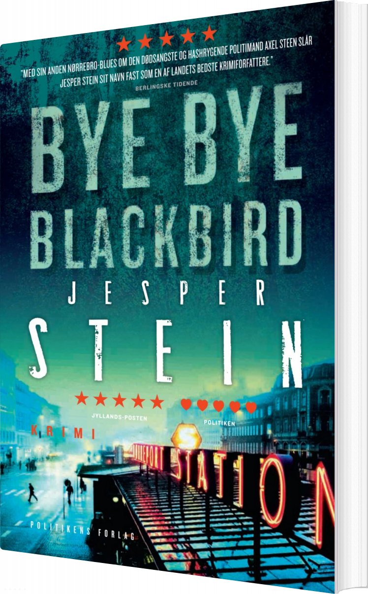 Bye Bye Blackbird - Jesper Stein - Bog