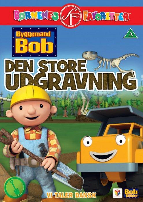 Billede af Byggemand Bob - Den Store Udgravning - DVD - Film