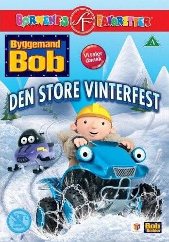 Billede af Byggemand Bob - Den Store Vinterfest - DVD - Film