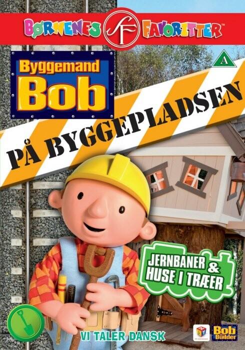 Byggemand Bob På Byggepladsen 4 - Jernbaner Og Huse I Træer DVD Film → Køb billigt her