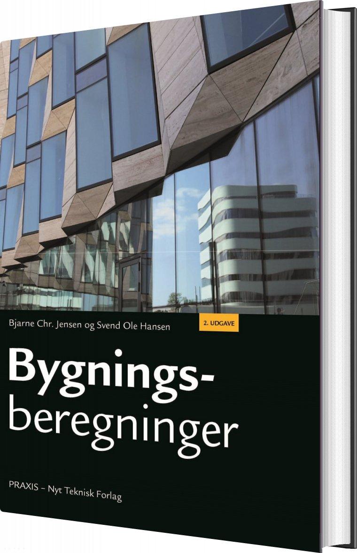 Image of   Bygningsberegninger - Bjarne Chr. Jensen - Bog