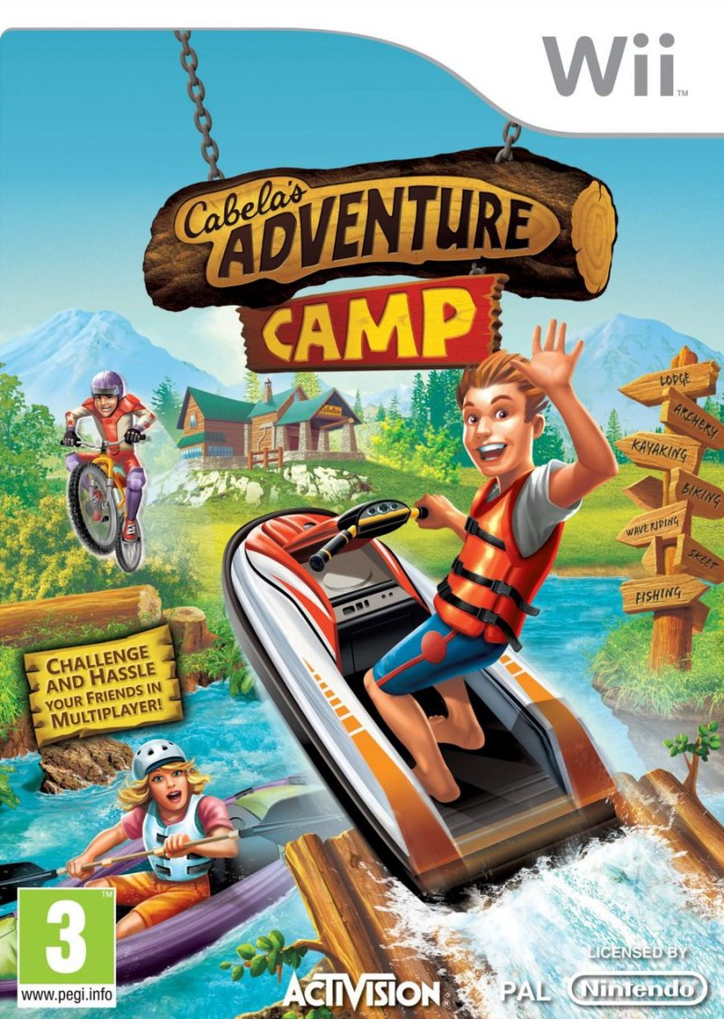 Image of   Cabelas Adventure Camp - Wii