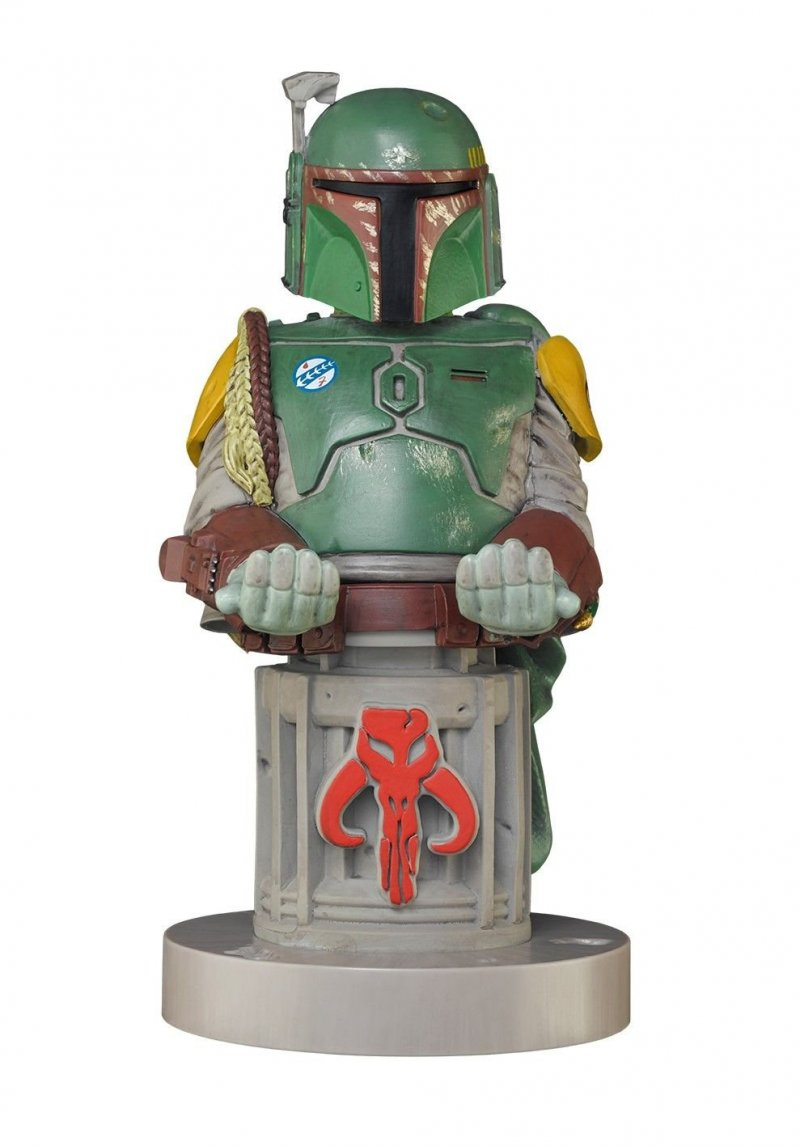 Image of   Cable Guys Figur - Mobil Og Controller Holder - Boba Fett