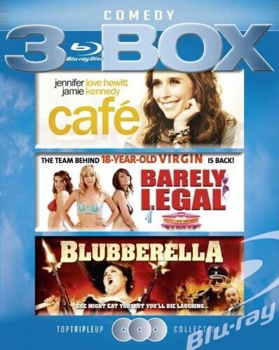 Image of   Café // Barely Legal // Blubberella - Blu-Ray
