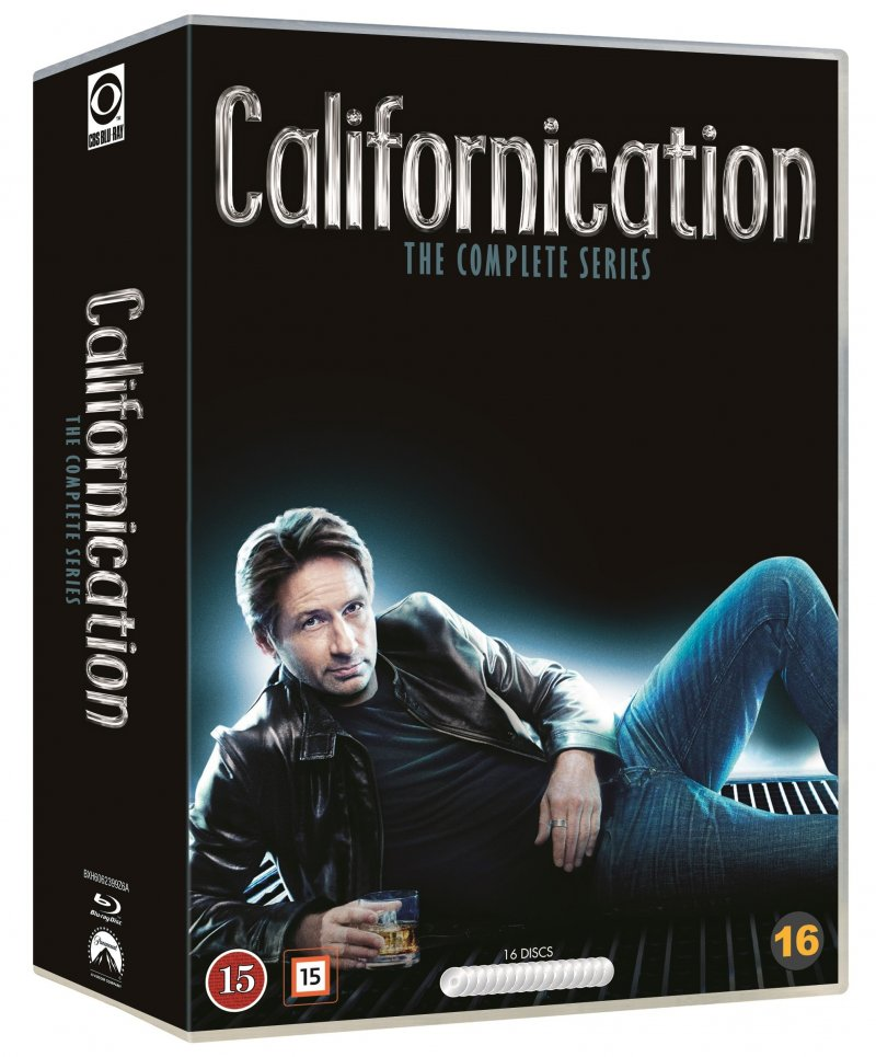 Californication Box - Komplet - Sæson 1-7 - Blu-Ray - Tv-serie
