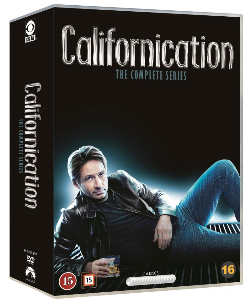 Californication Box - Komplet - Sæson 1-7 - DVD - Tv-serie