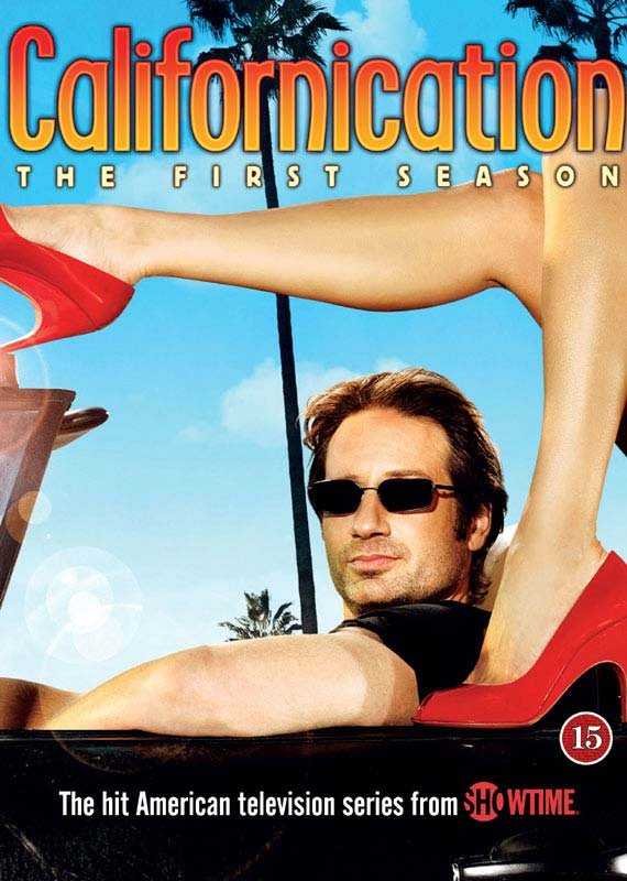 Image of   Californication - Sæson 1 - DVD - Tv-serie