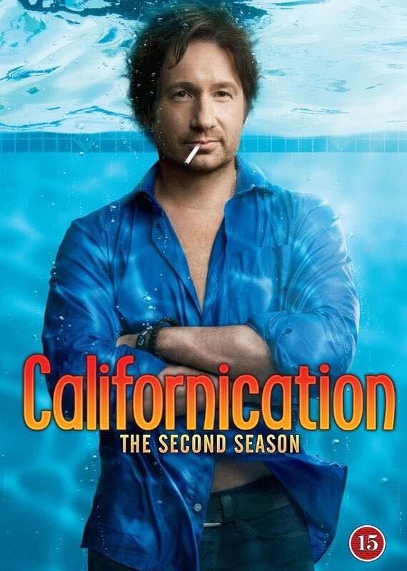 Image of   Californication - Sæson 2 - DVD - Tv-serie